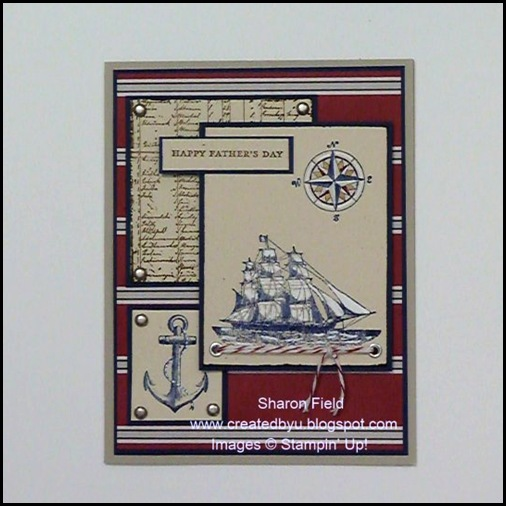The Open Sea, Diva Coffee Break Designs Challenge Card by Sharon Field