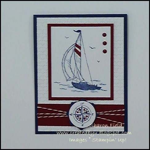 CS31, SharonField, Creative Sketches, Summer Mini, Sail Away, Created By You