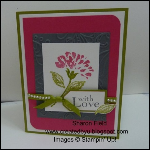 DCBD228, Sharon Field, LOve and care, hostess level 2, stamp set, mini catalog, summer, pearls, color challenge, diva coffee break designs team
