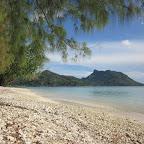 Strand von Huahine