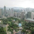 Aussicht von den Petronas Tower