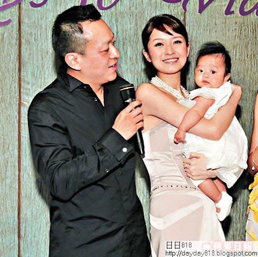 徐淑敏婚後誕下女兒,幸福滿瀉。資料圖片