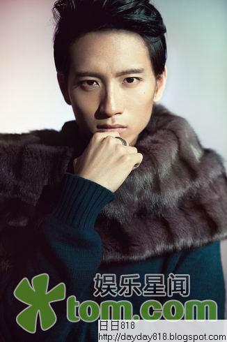 張峻寧時尚大片 型男偶像盡在《環球生活》