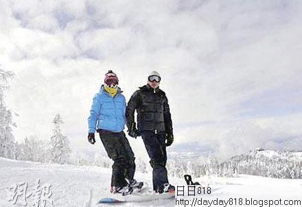 眾星公開曬幸福:梁朝偉夫婦滑雪 王菲憶初戀
