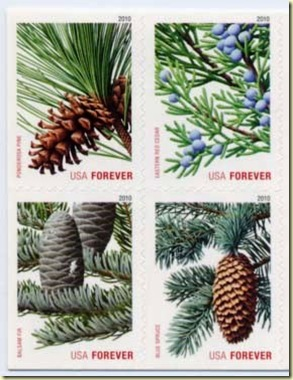 USA forever stamp 44c 21.Oct 10