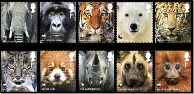 WWF stamp