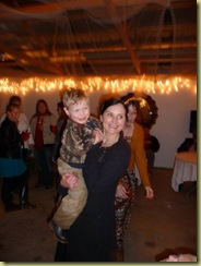 dancing with Aidyn at wedding