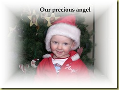 Nevaeh our precious angel