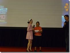 Lucky winner of iNO Mobile CP09