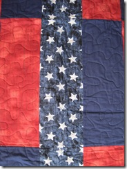 Patriotic Simple Rails Closeup