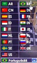Vários idiomas, inclusive o nosso!