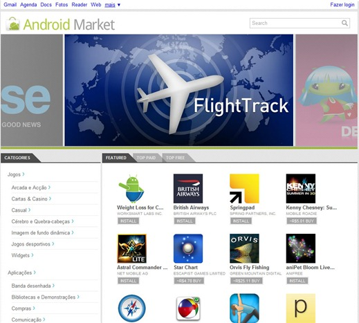 Home - Android Market