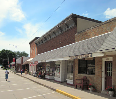 Downtown Kalona