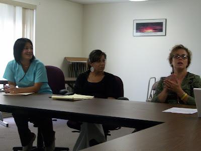 Washington School Nurses discuss response and education to H1N1 9/16/09 (KCII NEWS)
