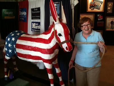 Lt. Governor Patty Judge at the Washington County Fair 7-22-10 (KCII)
