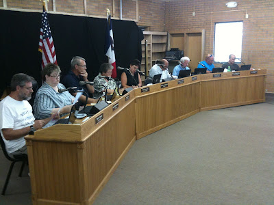 Washington City Coucil On Tuesday, August 17th<br /> (KCII's Chance Dorland)