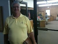 Joe Meyers, Washington's New Treasurer.<br /> (KCII's Chance Dorland)