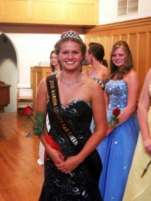 Marion County and Iowa State Fair Queen Lacey Stevenson<br /> (KNIA/KRLS)