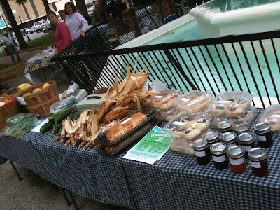 Bread, Vegetables, Jams And More Will Be Available At The Washington Farmer's Market Through October.<br /> (KCII's Chance Dorland)