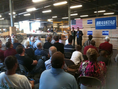Branstad And Reynolds During A Previous Washington Visit This July.<br /> (KCII's Chance Dorland)