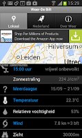 Screenshot of Weer