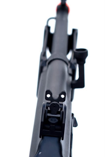 Airsoft Guns,cybergun, galil sar, airsoft aeg, pyramyd air, adjustable rear sight, Israeli weapon industries, israeli military industries