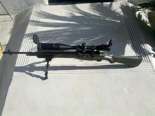 Airsoft Guns, Tokyo Marui, Echo1,Upgraded custom M14 DMR, Airsoft Automatic electric gun, designated marksman rifle,AEG, DMR, DM rifle, Bolt-action rifle, sniper rifle,pyramyd air