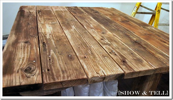 how to make wood look old and grey