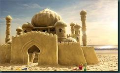 castelos na areia