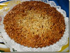 tarte de amendoa