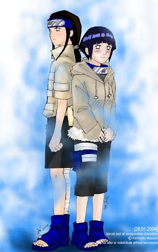 Neji and Hinata Poster