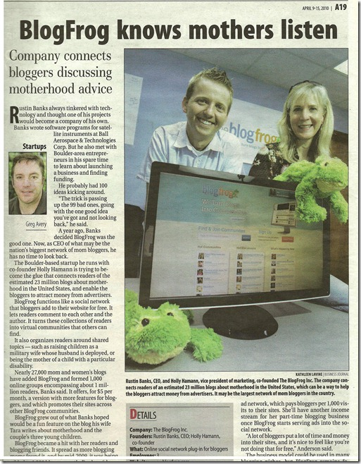denver business journal article