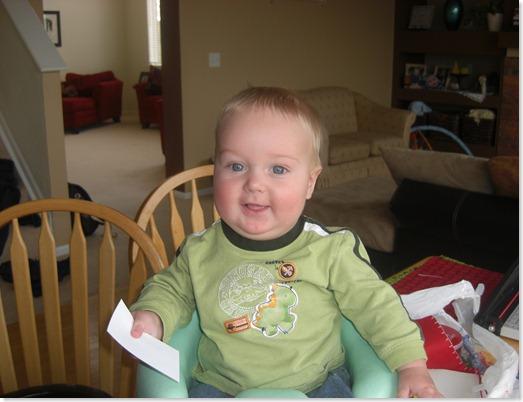 Blake turns 6 months