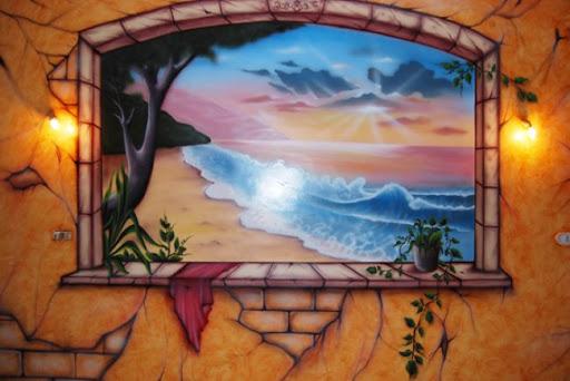 فن الخداع البصرى بالرسم على الجدران من
