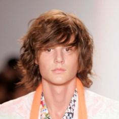 wavy shaggy hair for Men