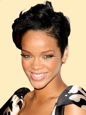 rihanna short hairstyles. Rihanna short hairstyle