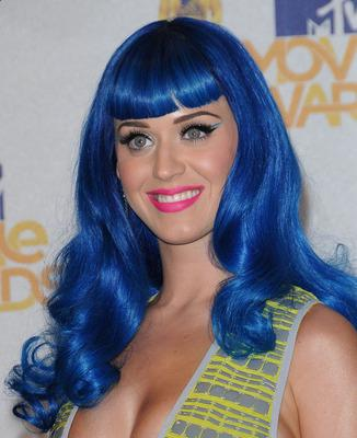 Katy Perry crazy haircut