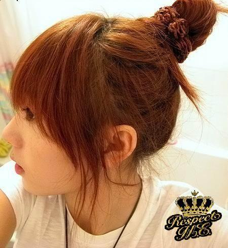 hairstyles for girls 2011. cute updo hairstyle for girls