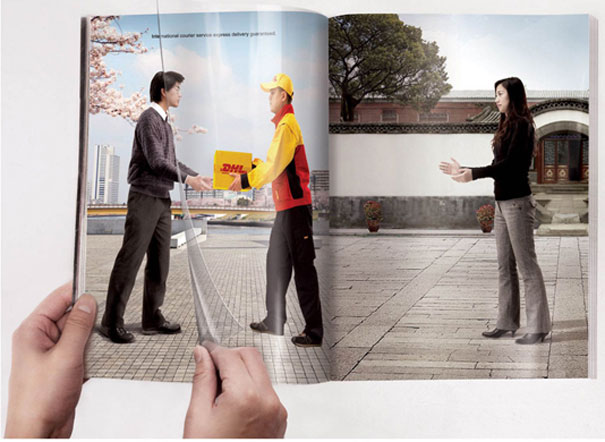 DHL &#8211; Turning Page