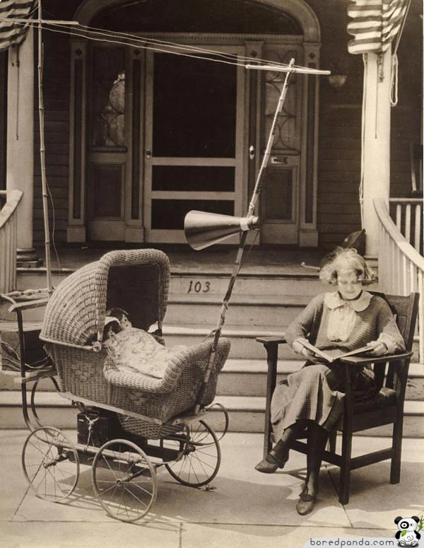 || COOL INVENTIONS FROM THE PAST|| INTERESTING AND FUNNY|| Cool-inventions-radio-pram