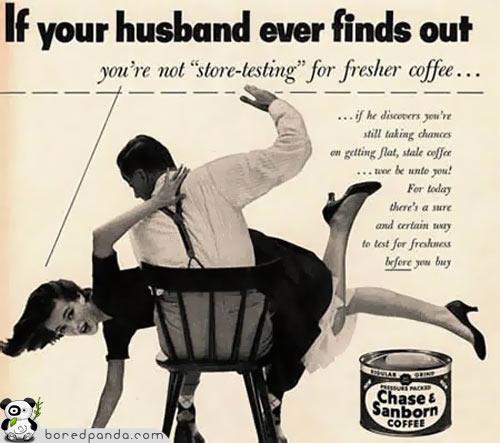 los anuncios más increibles... Vintage-Ads-Coffee