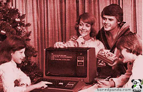Holiday TRS-80