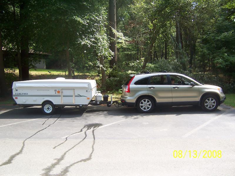 crv 2008 towing capacity