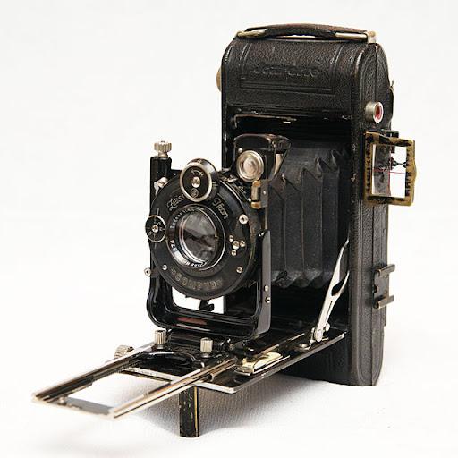 фотоаппарат мех старый старинный Zeiss Ikon Icarette 500/2 6x9 120 Tessar 105/4.5 Compur