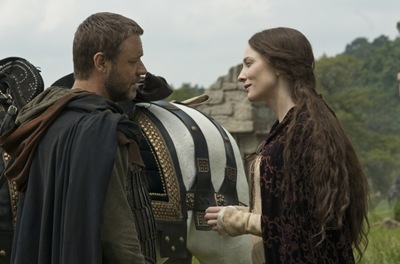 "Robin (RUSSELL CROWE) bids farewell to Marion (CATE BLANCHETT) in ""Robin Hood"", the epic action-adventure about the legendary figure whose exploits have endured in popular mythology and ignited the imagination of those who share his spirit of adventure and righteousness."