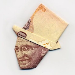 Creativity-with-Currency-Notes-7