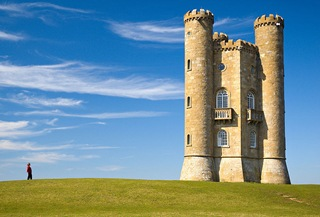 broadway tower in cotswolds uk