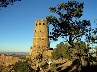 tower at grand canyon