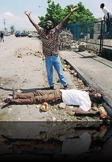 PRIMERA  MUERTE HAITI