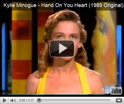 it&#39;s Kylie Minogue&#39;s Hand